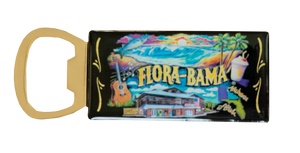 Flora-Bama Chalk Art Bottle Opener