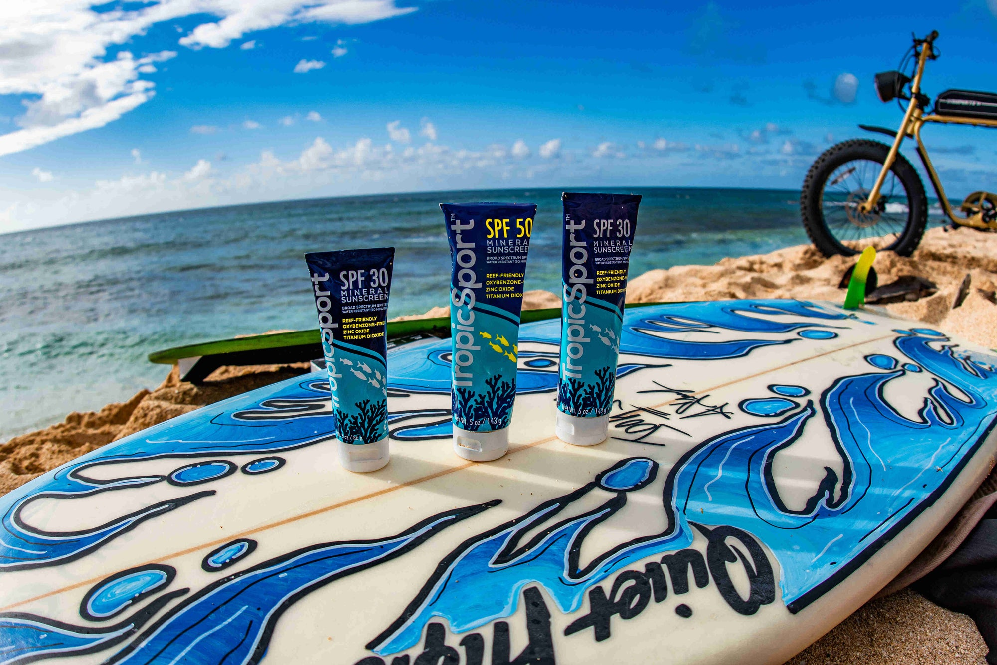 TropicSport Sunscreen and Skincare Products