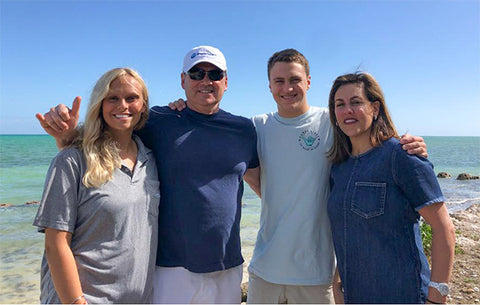 Tony and Lisa with Family 2019