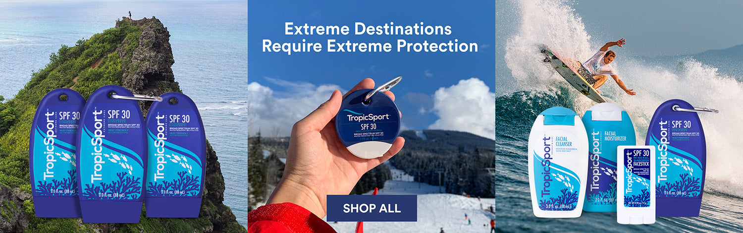TropicSport Skincare Products for Travel