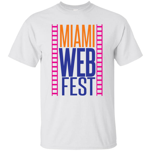 Official Miami WebFest - Full Color on White