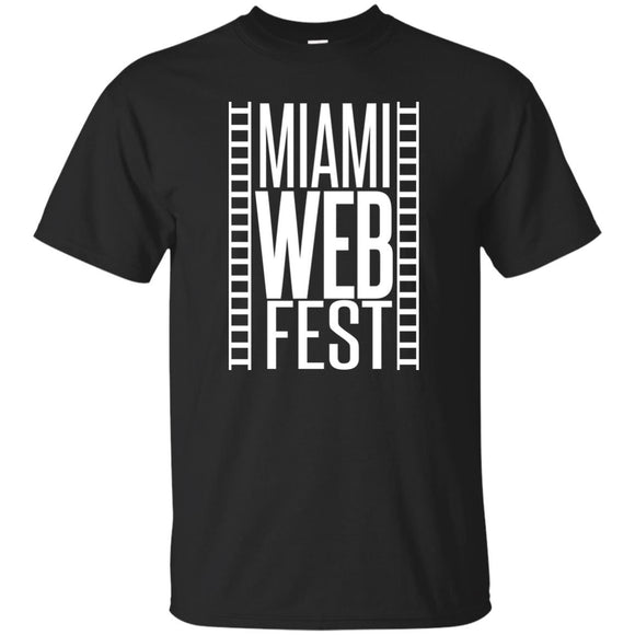 Official Miami WebFest - White on Black