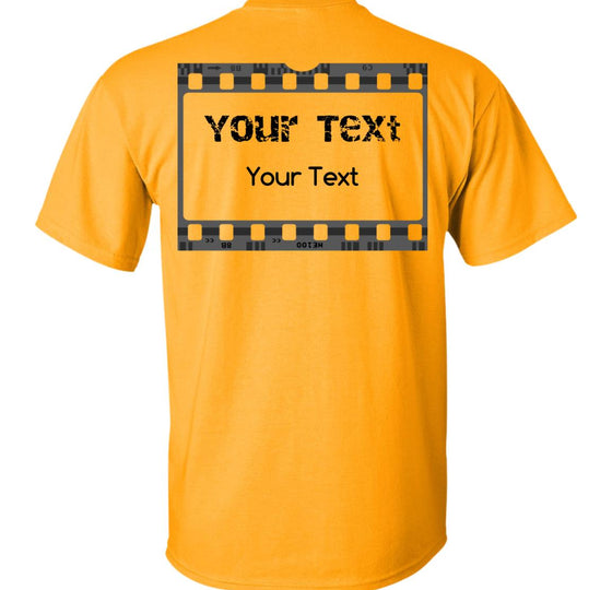 Movie Reel: Custom-Text Back