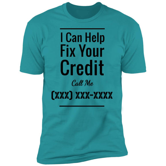 Credit Repair w/ Custom Phone Number - Black