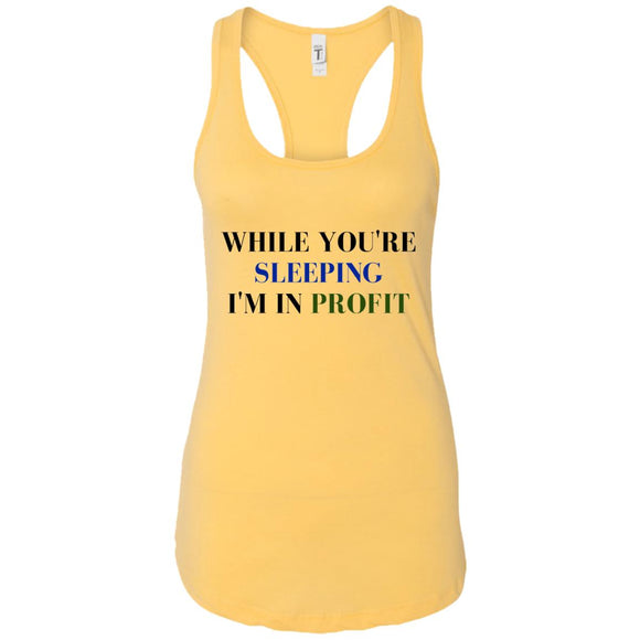 Growth Potential Sleeping - Profit Racerback