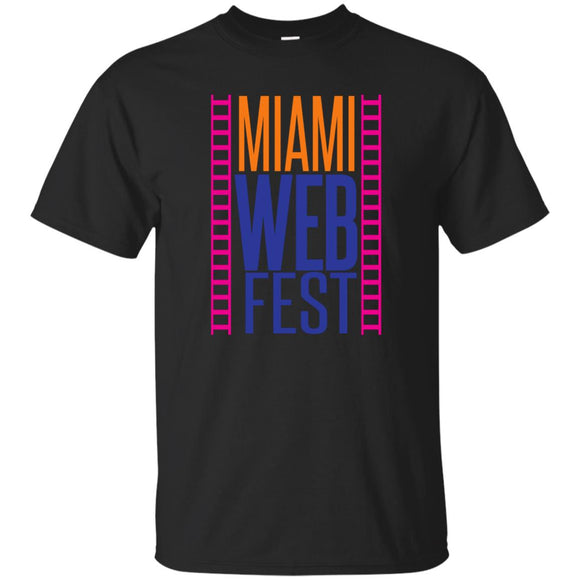 Official Miami WebFest - Full Color on Black