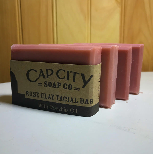 Rose Clay Facial Bar
