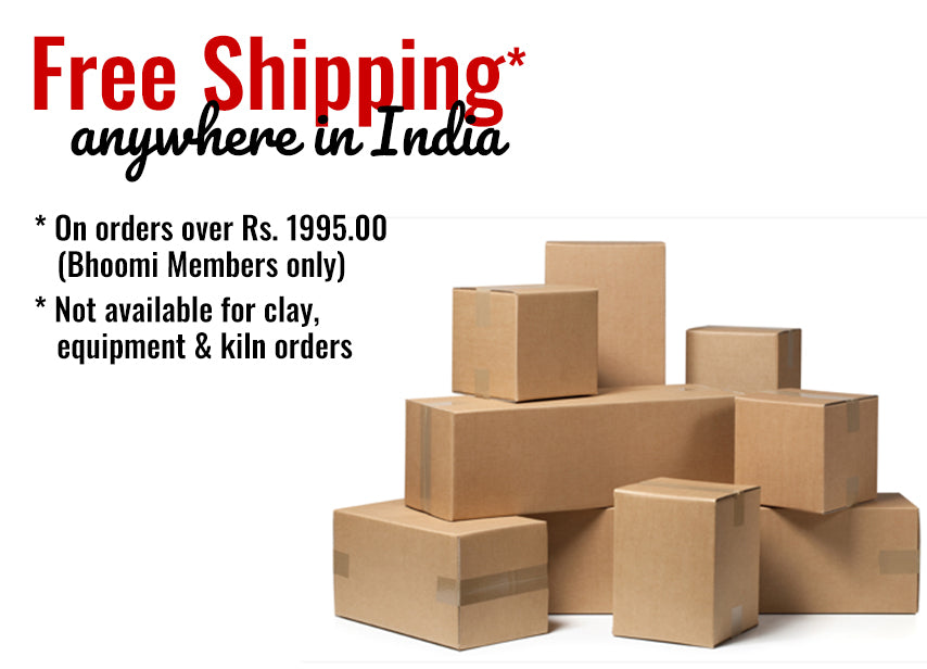 Free Shipping Policy - Bhoomi Pottery