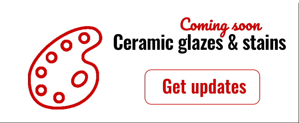 Ceramic Glazes & Stains for sale in India - Bhoomi Pottery