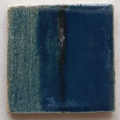 Artha Pottery Stoneware Glaze 1258 Peacock Blue Pastel 500 gms for sale in India - Bhoomi Pottery