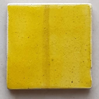 Artha Pottery Stoneware Glaze 1265 Bright Yellow 500 gms for sale in India - Bhoomi Pottery