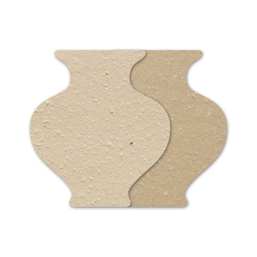 Powdered Clay Earthstone 'Q' Cast for sale in India - Bhoomi Pottery