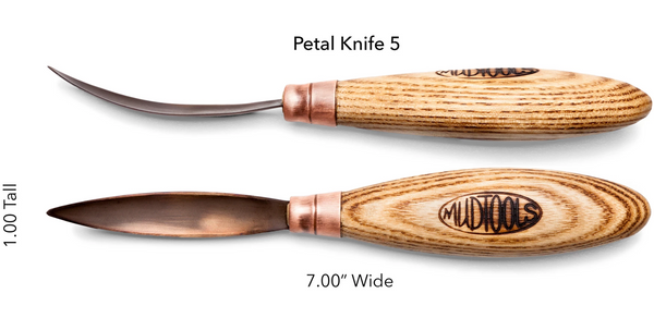 Buy Mudtools Petal Carving Knife 5 for sale in India - Bhoomi Pottery