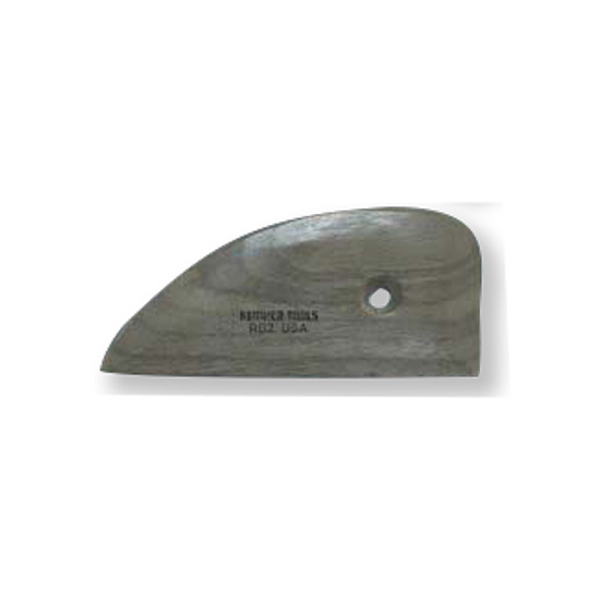 "Buy Kemper Tools Wooden Potter's Rib 4 1/4"" RB2 - Bhoomi Pottery"