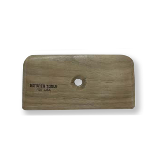 "Buy Kemper Tools Wooden Potter's Rib 4"" RB7 - Bhoomi Pottery"