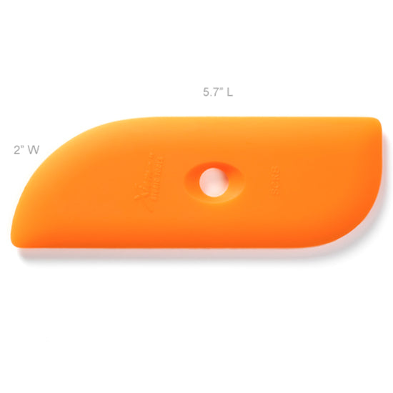 Xiem Clay Rib Soft Silicone 8 - Orange SCR8-O-10200 for sale in India - Bhoomi Pottery