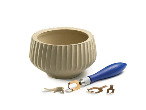 Xiem Clay Fluting Tool Set FTS-10344 for sale in India - Bhoomi Pottery