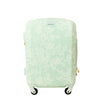 Lace Texture Hard Sided 21in Rolling Luggage Suitcase, Mint
