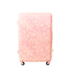 Lace Texture Hard Sided 29in Rolling Luggage Suitcase, Blush Pink