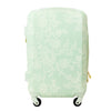 Lace Texture Hard Sided 29in Rolling Luggage Suitcase, Mint