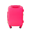 21in Pineapple Hard Sided Rolling Luggage Suitcase, Hot Pink