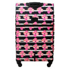 Petunia 29in Soft Sided Rolling Luggage Suitcase, Black Floral