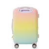 21in Vacay Vibes Hard Sided Rolling Luggage Suitcase, Sorbet Ombre
