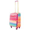 Chevron 21in Soft Sided Rolling Luggage Suitcase, Multi