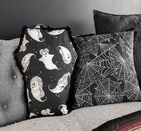 Sanderson Spooks Coffin Cushion