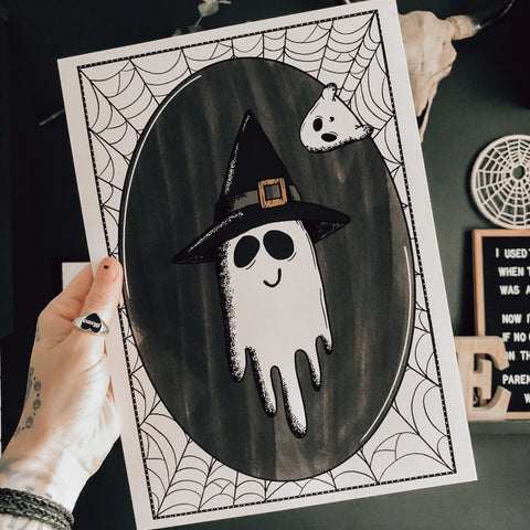 Witchy Spook Print