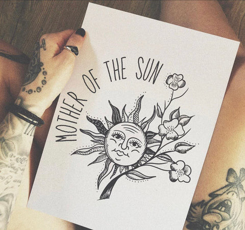 Mother Of The Sun Print