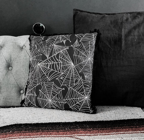 Twisted Webs Cushion