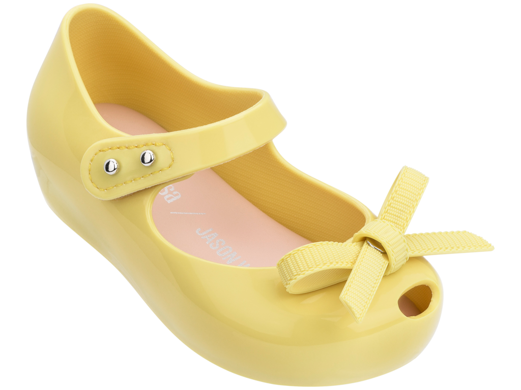 Mini Melissa x Jason Wu Ultragirl Bow Lemon