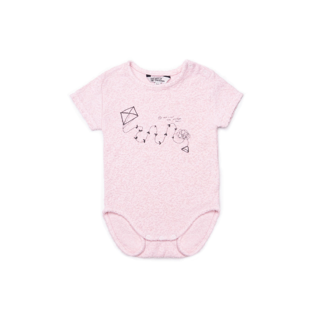 Barn of Monkeys Baby Kite Print Body