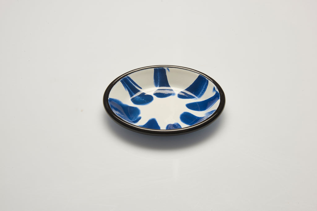 Kapka Little Colour Blue Enamel Mini Plate
