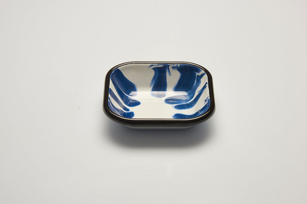 Kapka Little Colour Blue Enamel Meze Plate