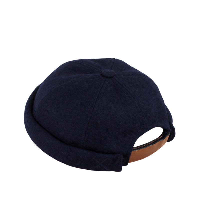 Béton Ciré Miki Sailors Hat Wolfish Wool Dark Navy
