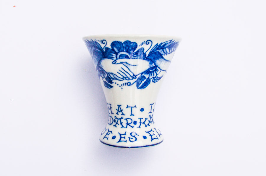 By Mutti What Is Love Vase Small
