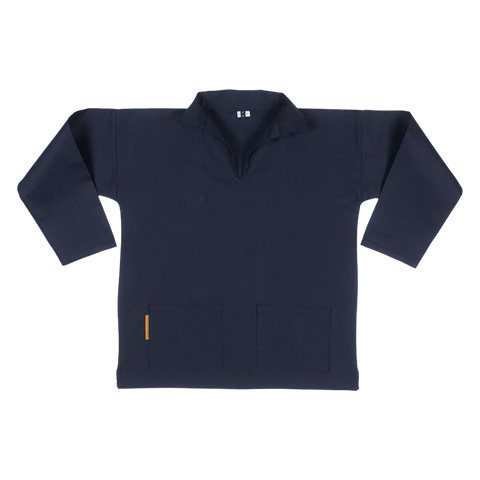 Carrier Company Unisex V-Neck Smock Navy
