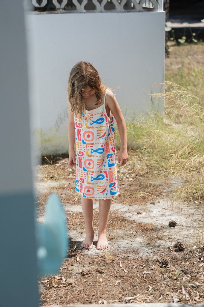 Fresh Dinosaurs Kids Ocean Dress