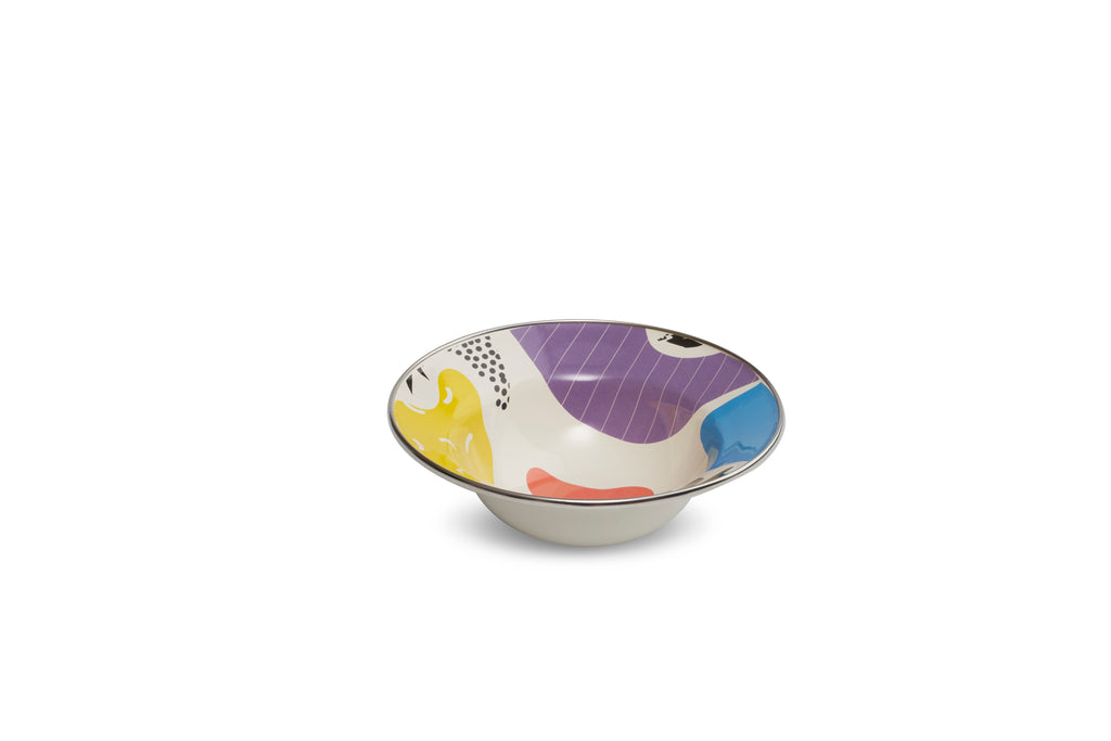 Kapka Flashback Small Enamel Fruit Plate