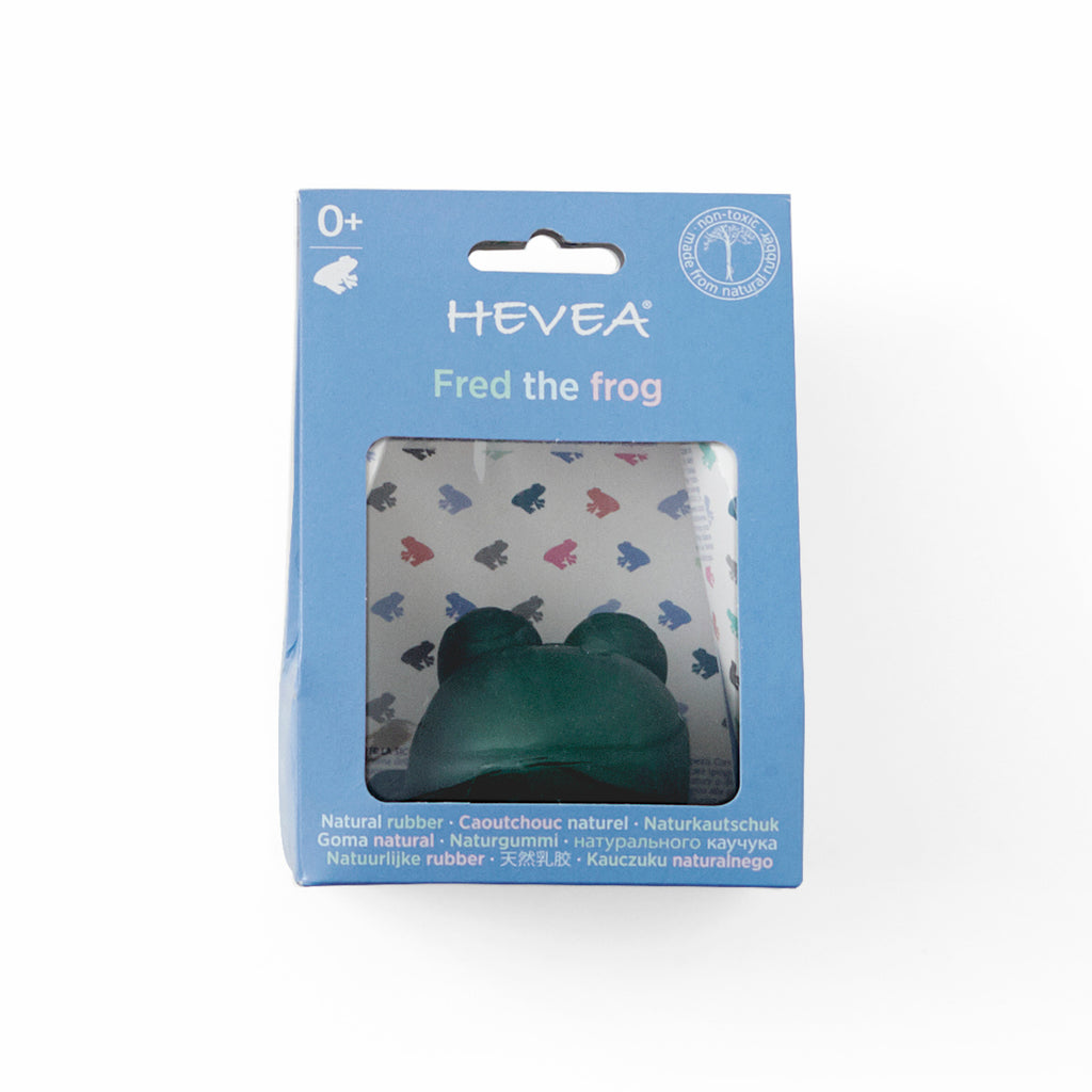Hevea Fred the Green Frog Bath Toy
