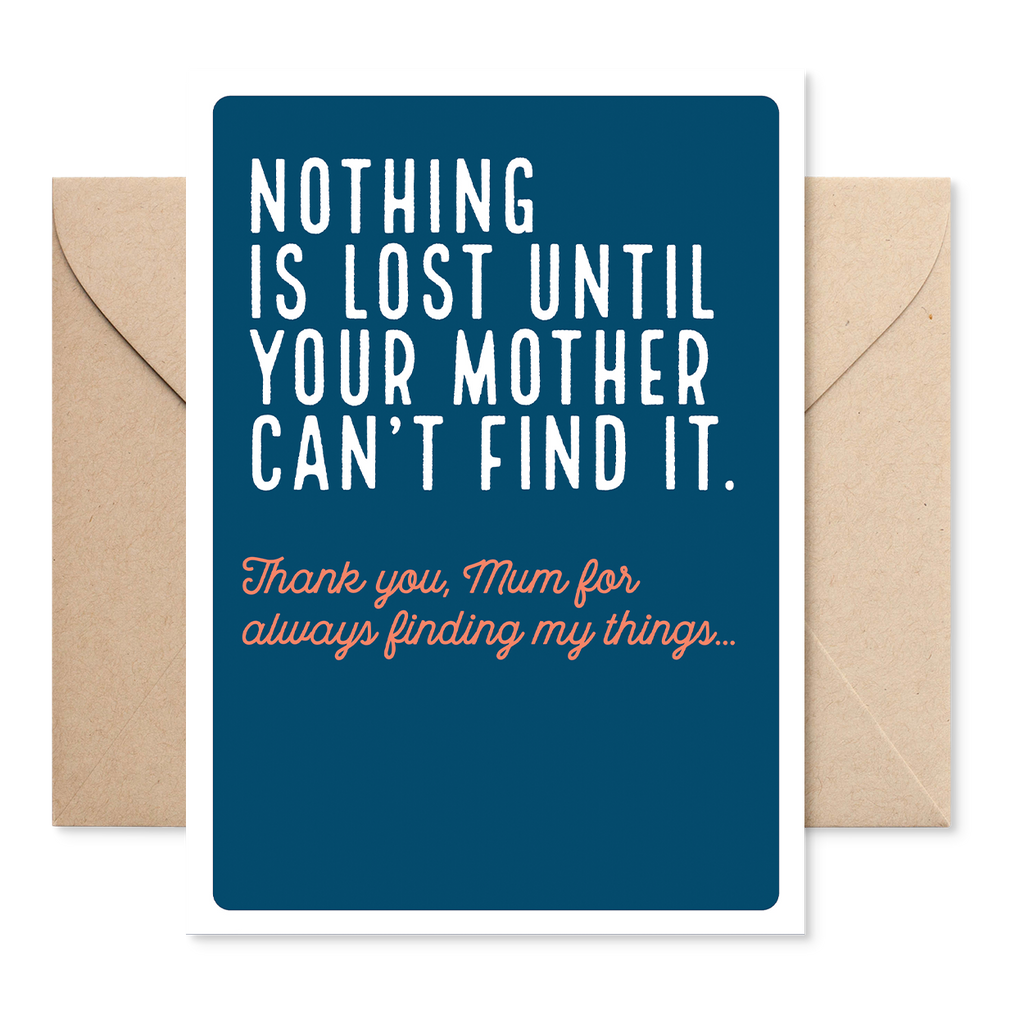 Electric Carp X Marsha 'Nothing Is Lost' Mother's Day Card