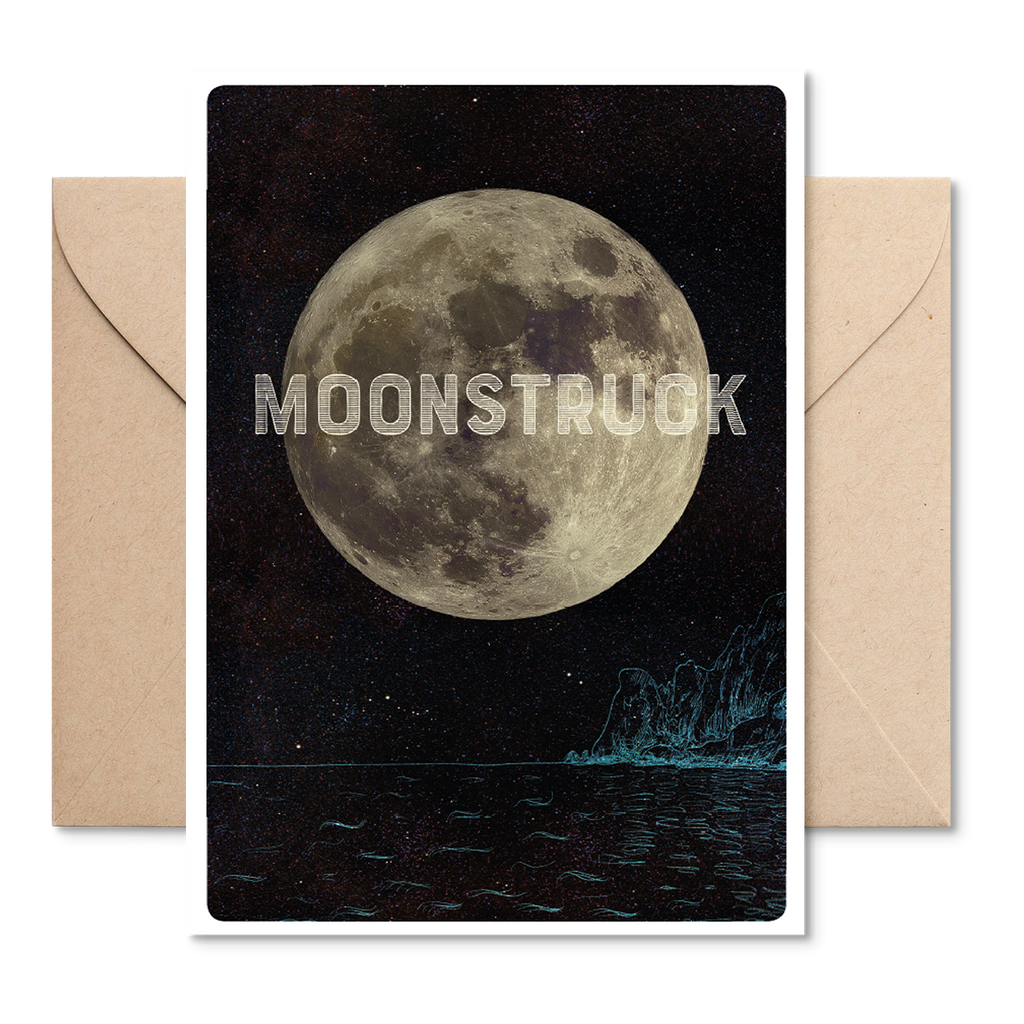 Electric Carp X Marsha Moonstruck Card