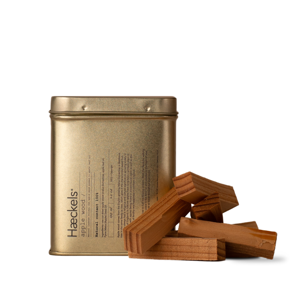 Haeckels Applewood Raw Incense