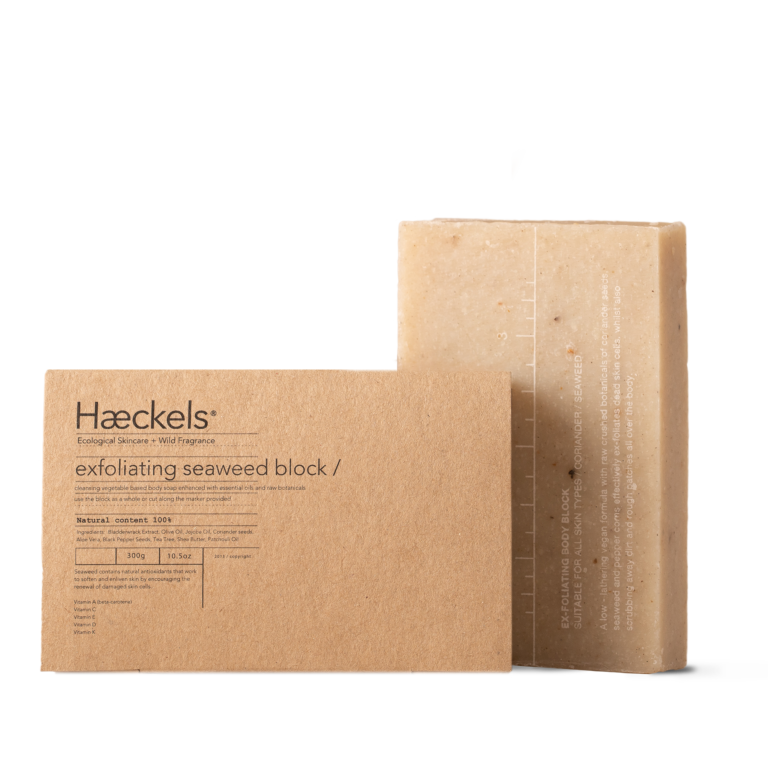 Haeckels Exfoliating Vegan Seaweed Soap Large