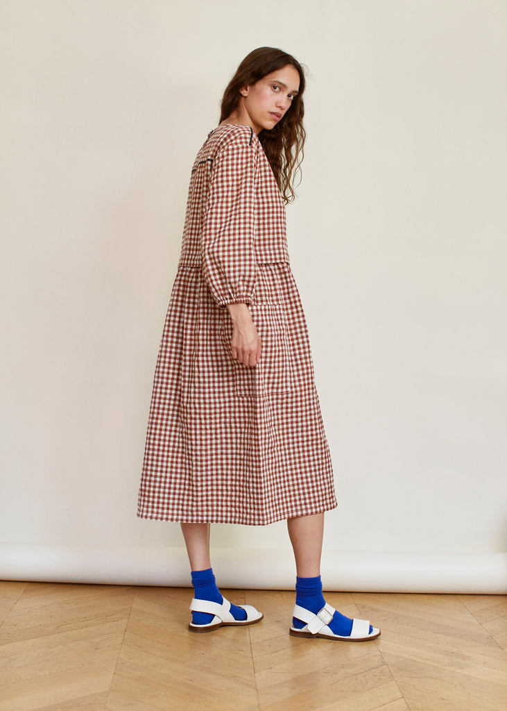 Sideline Marianne Checked Dress