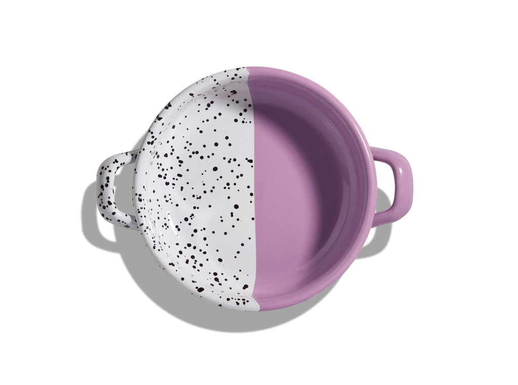 Kapka Mind-Pop Purple Enamel Small Frying Pan