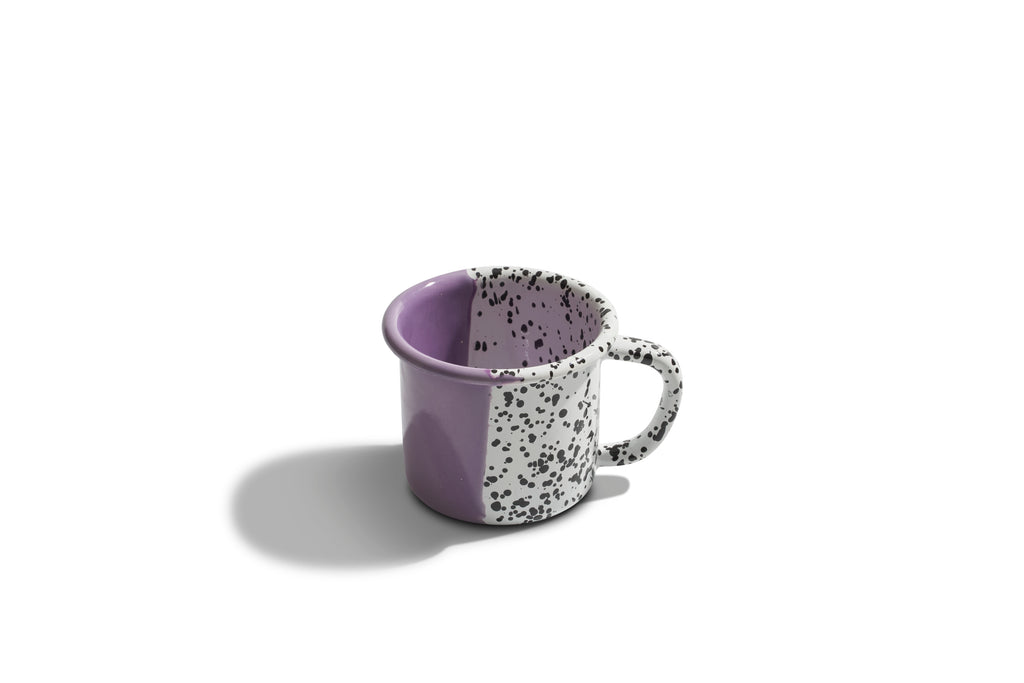 Kapka Mind-Pop Purple Enamel Mug