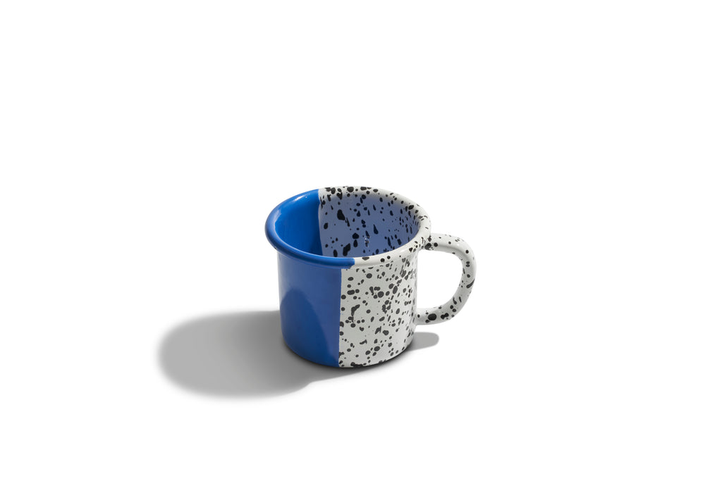 Kapka Mind-Pop Cobalt Blue Enamel Mug
